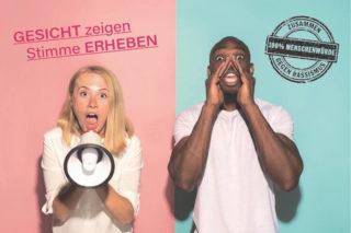 """Internationale Wochen gegen Rassismus 2020 """"Gesicht zeigen – Stimme erheben"""""""