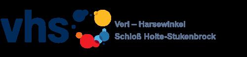 Logo vhs Verl - Harsewinkel - Schloß Holte-Stukenbrock