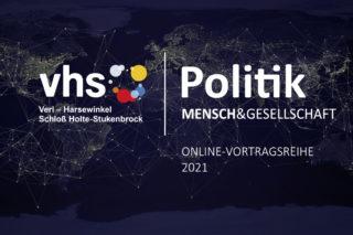 Online-Vortragsreihe: vhsPolitik | Mensch & Gesellschaft