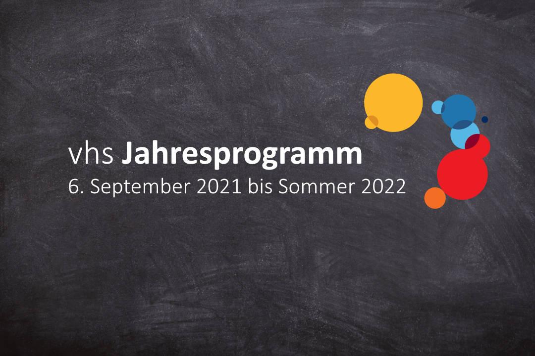 Jahresprogramm für das Semester 2021/2022