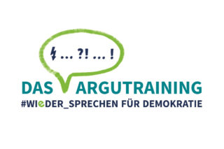 DAS ARGUTRAINING #WIeDER_SPRECHEN FÜR DEMOKRATIE