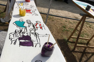 """Colour for Democracy"" auf dem Emsfest"